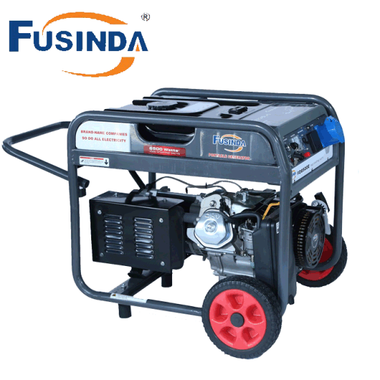 5kVA Key / Electric Start Gasoline Petrol Generator Set with Air Cooled Four Stroke Overhead Valve (OHV) Gasoline Engine pictures & photos