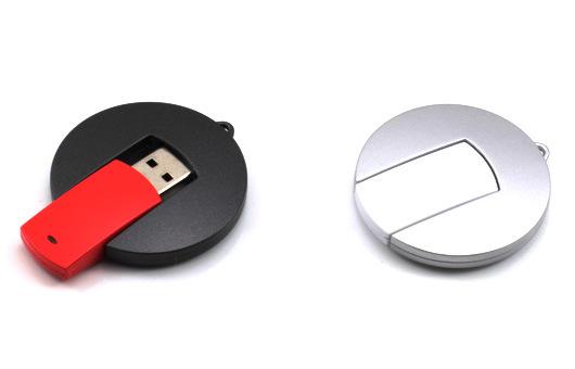 Promotional Customized USB Flash Drives UFO Style U074/Sy058