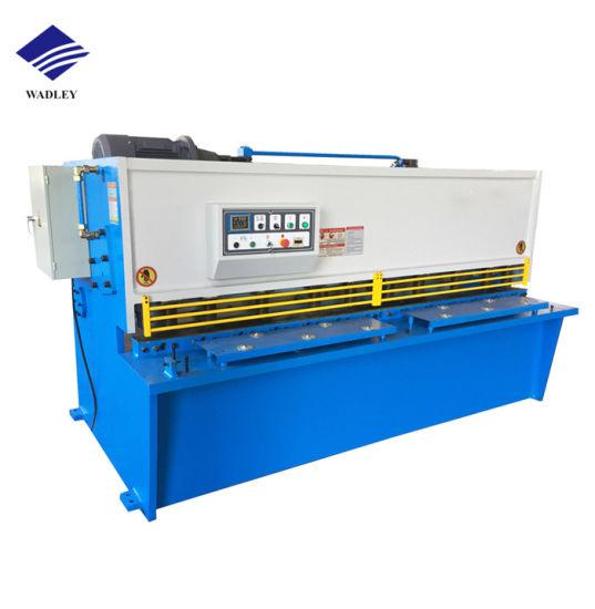 QC12y Series Sheet Metal Shearing Machine Steel Plate Hydraulic Shearing Machine