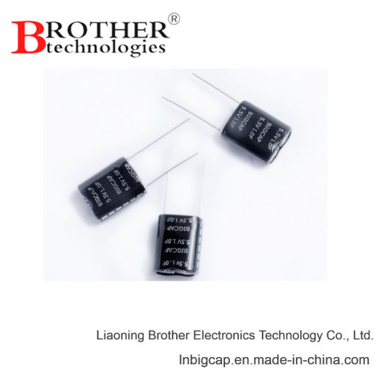 Super Capacitor 5 4V, 5 5V, 7 5V 0 33f Combined Series High Quality Backup  Power Energy Storage Ultracapacitor