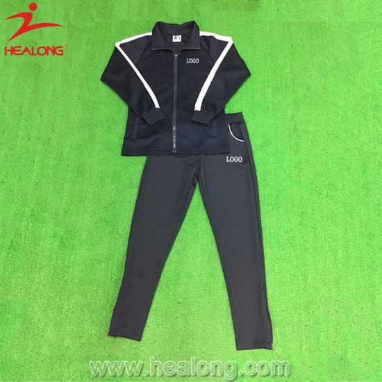 Healong Cut and Sew Training Tracksuit with Embroidery Logo pictures & photos