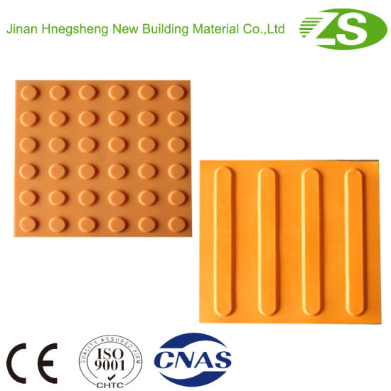 Hot Sale Rubber Floor Tactile Tiles Made by Zs pictures & photos