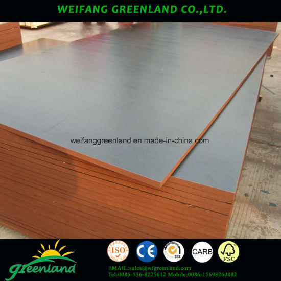 21mm Two Time Hot Press Quality Brown Fillm Faced Plywood