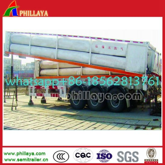 20FT 40FT 8- 12 Tube-Pipes Liquid Gas Transport Tanker Container pictures & photos