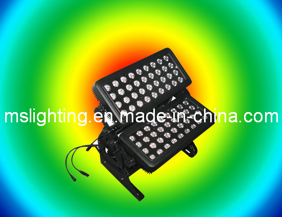 72/120*15W RGBWA 5in1 Multi-Color LED Wall Washer Light /LED Flood Light Waterproof IP 65