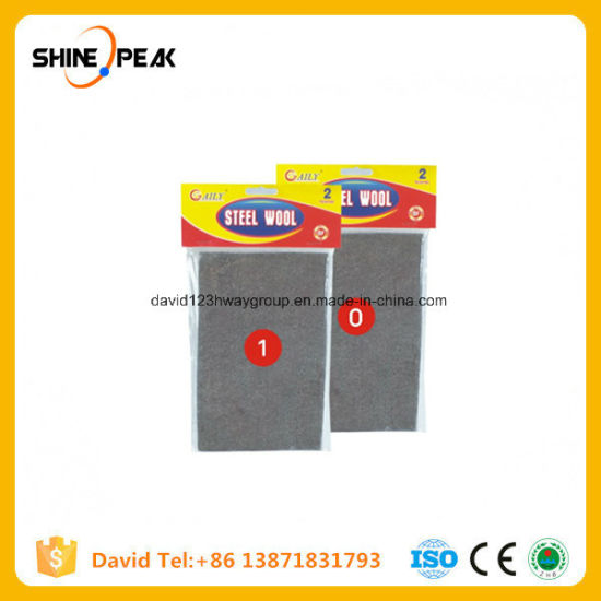 #0 Grinding Polishing Materials Industrial Steel Wool Abrasives Pads Price pictures & photos