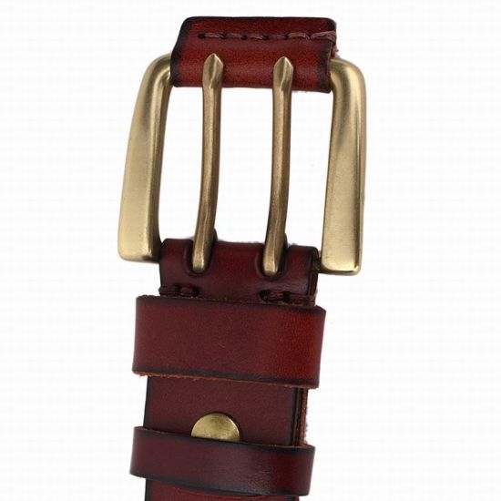 Top Layer Leather Man Belt Cow Hide Leather Belt (RS-131260) pictures & photos