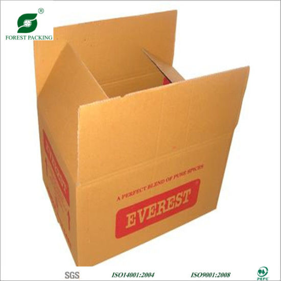Manufactory industry consumer packaging made of paper and cardboard