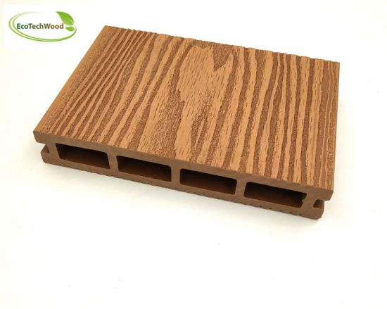 Popular 3D Wood Grain WPC Flooring