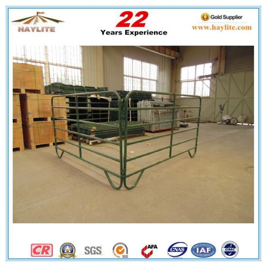 10ft Green Powder Coated Cattle Corral Panel (CP-1700G)