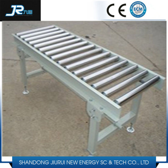 Powered Steel Roller Conveyor for Production Line pictures & photos
