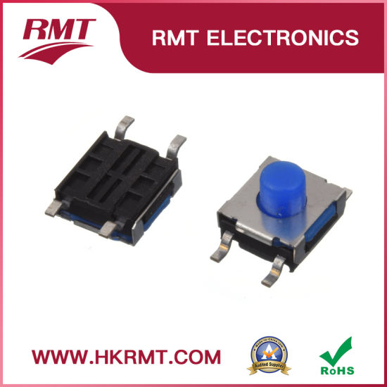 Soft Push Switch Tact Switch for Control Equipment (TS-1158S)