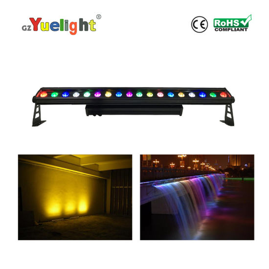 Wireless DMX LED Wall Washer 18PCS 4in1 City Color Wall Wash Light Outdoor