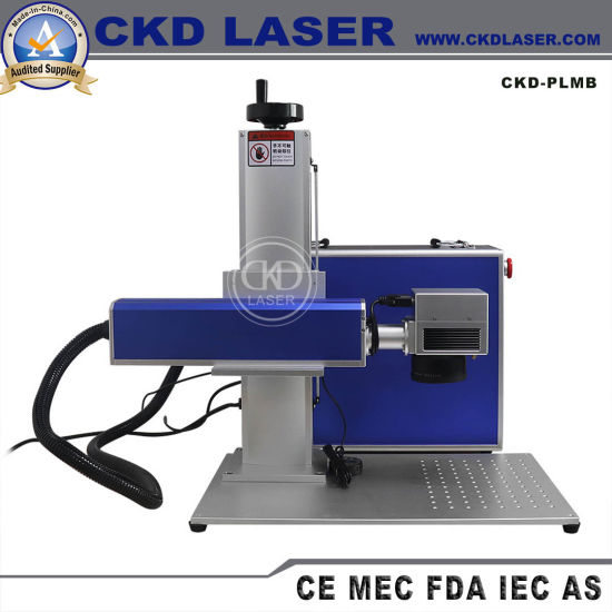 High Speed Portable Fiber Laser Marking Machine for Metal Sheet Stainless ISO/Ce/FDA