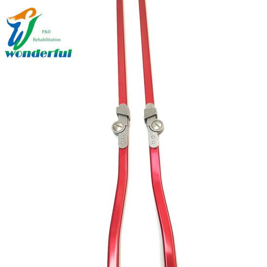 Orthotics of Child Ring Lock Red Aluminum Bar