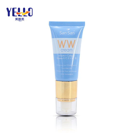 Wholesale 30ml Plastic Soft Cosmetic Airless Tube for Foundation