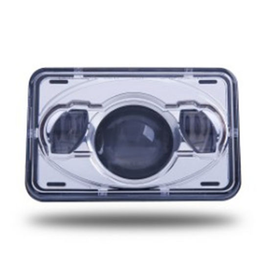 4X6 Inch Clear PC Lens Square DOT High Beam Headlamp Waterproof Light Truck Trailer LED Headlight pictures & photos