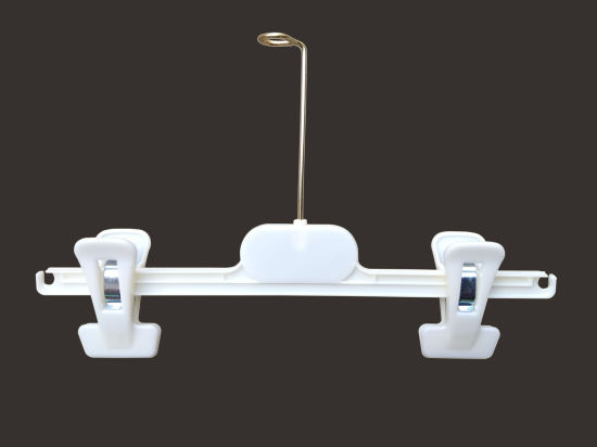 Popular Pants Hanger with Metal Hook and Removable Bar pictures & photos