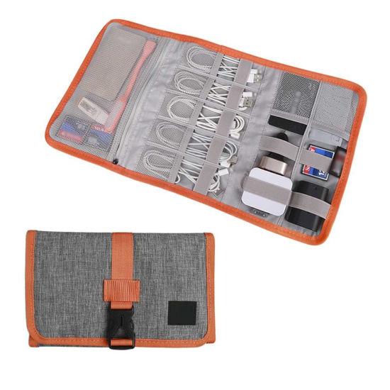 Travel Organizer Cable Bag USB Drive Shuttle Case Electronics Accessory Organizer