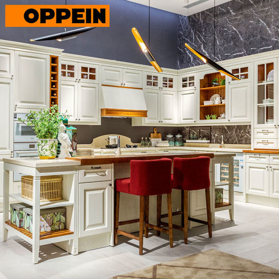 Oppein Guangdong Factory Solid Wood Kitchen Cabinets Made In China Kitchen Cabinets Made In China Solid Wood Kitchen Cabinets