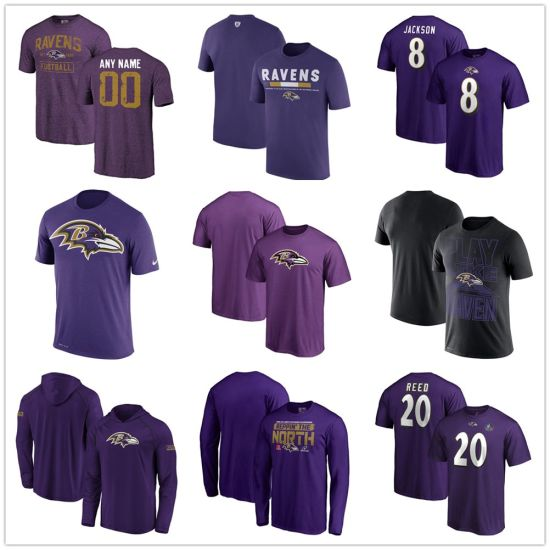 low priced 0e2e9 f4278 Men′s Ravens ED Reed 2019 PRO Football Hall of Fame Player Name & Number  T-Shirt