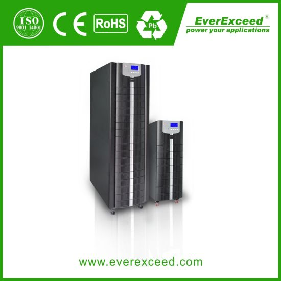 Everexceed Power Champion Tl Series 40kVA High Voltage Tower Industrial High Frequency Online Uninterruptible Power System UPS for Data Center/ Network