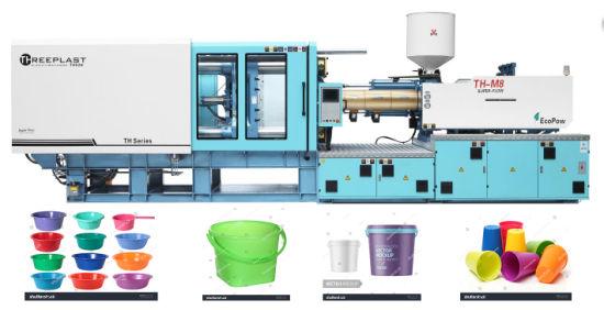 600t Plastic PVC Pipe Injection Moulding Molding Machine for Plastic Basket Bucket Washing Basin PE Fitting Making Machine