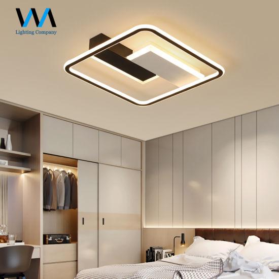 Bedroom Warm Light Simple Modern LED Ceiling Lamps