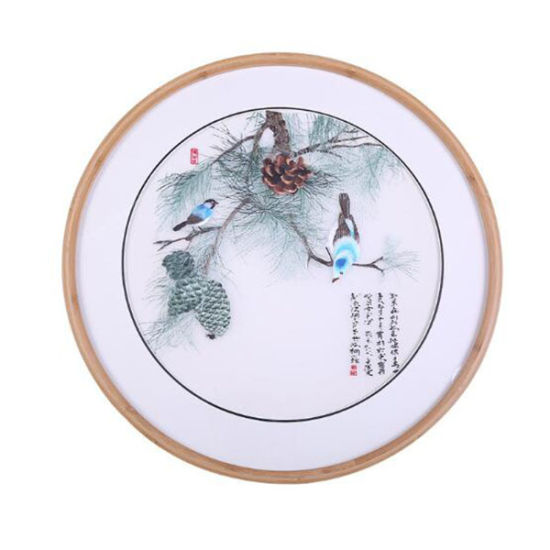 Modern Bamboo Round Photo/Picture Frame for Home/Office/Bedroom pictures & photos
