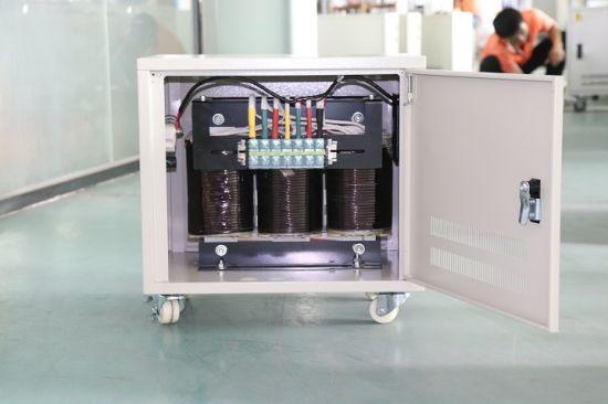 3three Phase Isolation Transformer 20kVA 30kVA 40kVA 50kVA 440 to 220 Step Down Transformer