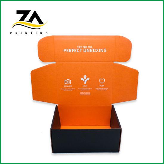 Folding Custom Printed Logo Packing Shipping Carton Box Corrugated Box
