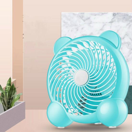 Portable USB Desk Fan Office Table Mini Fan Electric Fan