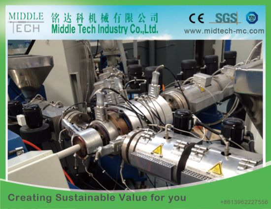 Plastic PPR/PE-Rt Hot and Cold Water Pipe/Tube Production Line