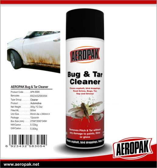 Strong Pitch Tar Bug Cleaner of Car Care Products