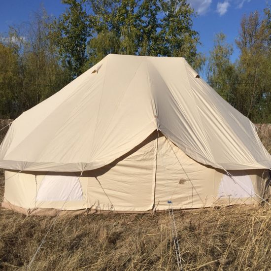 C&ing Hotel Canvas Bell Tent Luxury Emperor Tent & China Camping Hotel Canvas Bell Tent Luxury Emperor Tent - China ...