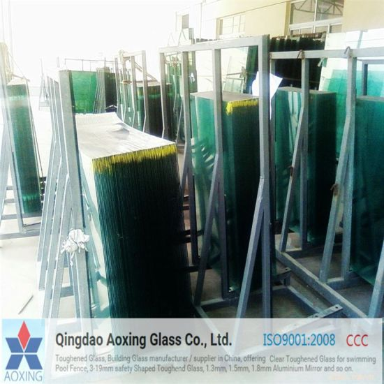 Clear Toughened/Tempered Glass for Bath Glass with Certification pictures & photos