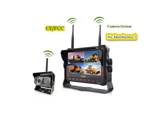 DVR No Interference Digital Wireless Waterproof Rear View Camera 4CH pictures & photos