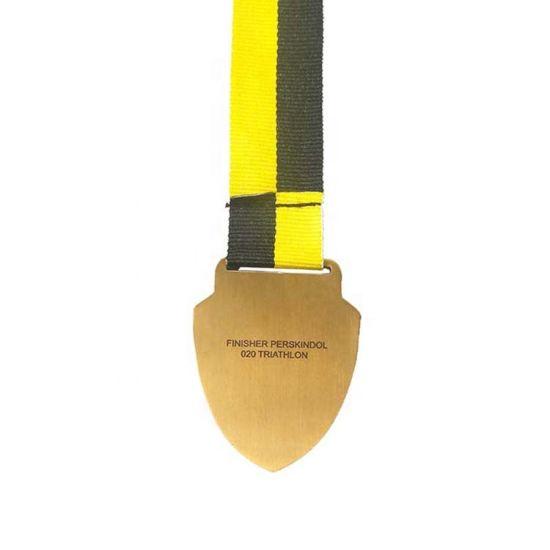 Custom Embossed Logo Zinc Alloy Run Sports Race Medal