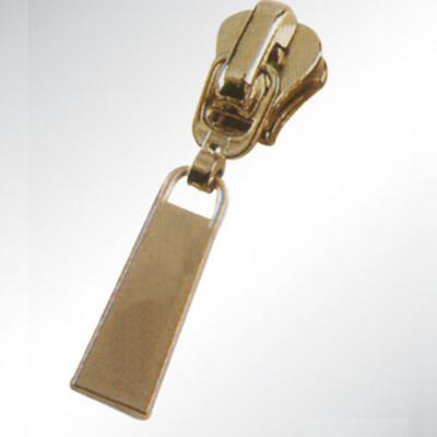 Shining Gold Slider for Metal/ Nylon Zipper
