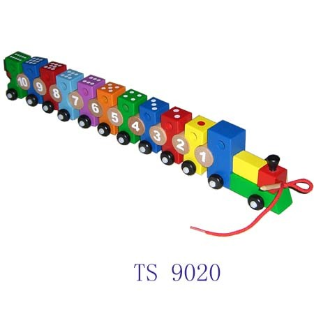 Pull and Push Wooden Number Train Set pictures & photos