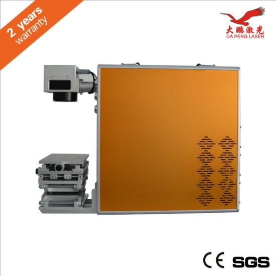 Portable Fiber Laser Marking Machine Ylp-20W pictures & photos