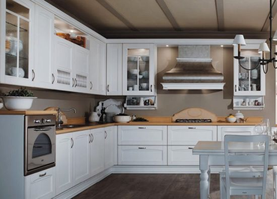 China Free Sample Modern High Gloss Smart Kitchen Cabinet Kit 71