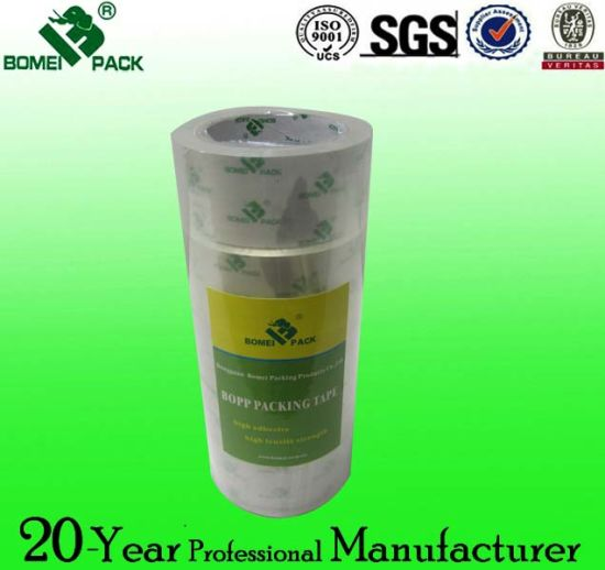 Clear BOPP Adhesive Stationery Tape for School and Office pictures & photos