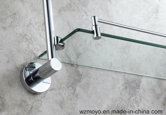 Bathroom Accessories Double Glass Shelves pictures & photos