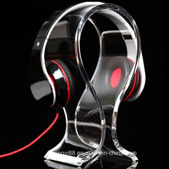 Earphone Headset Hanger Desk YS Acrylic Headphone Display Stand Holder Rack