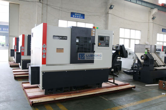 CNC Turning Center with Price (Slant Bed CNC Lathe Machine TCK46A) pictures & photos