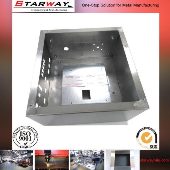 Customized Aluminum (Stainless Steel) Sheet Metal Fabrication Enclosure