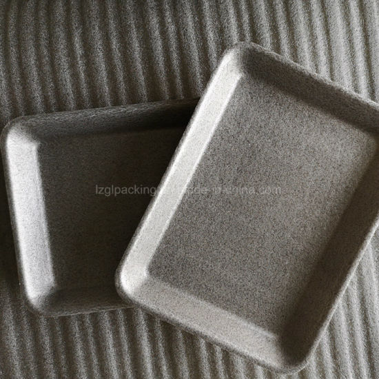 Biobased Foam Style Corn Starch Poultry Food Trays