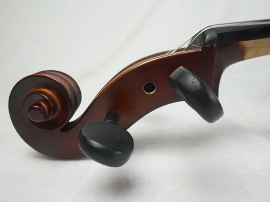 High Quality Dark Red Brown Colour Solid Primary Cello for Sale pictures & photos