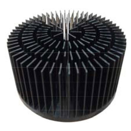 Cold Forged Aluminum 50W LED Heatsink Radiator